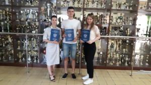 Najlepsi maturzyści Ola, Filip i Zuzanna